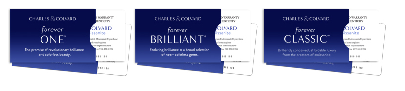 ... Charles & Colvard© for a replacement according to the terms outlined in their warranty. Below is a sample Warranty Card provided by Charles & Colvard©.