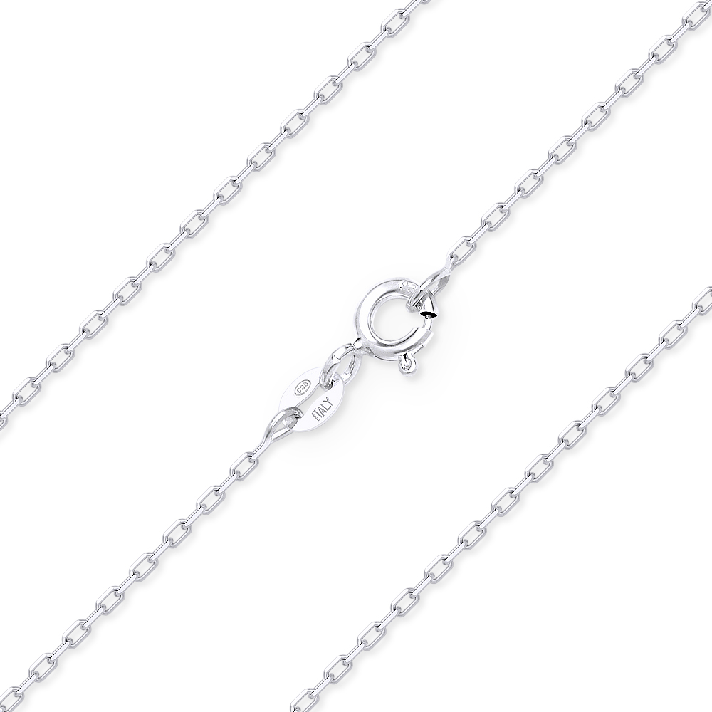Sterling Silver Round Magic Snake Chain 0.9mm Rhodium Plated New Necklace 925